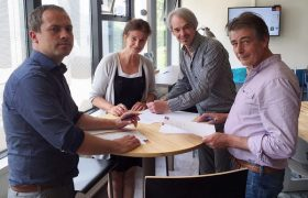 Weder by - ondertekening contract EromesMarko 2